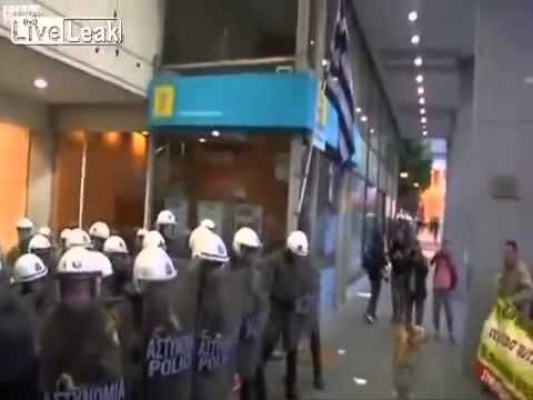 Greece's Riot Dog Loukanikos dies Loukanikos, the valiant dog who faced Greek Riot Police