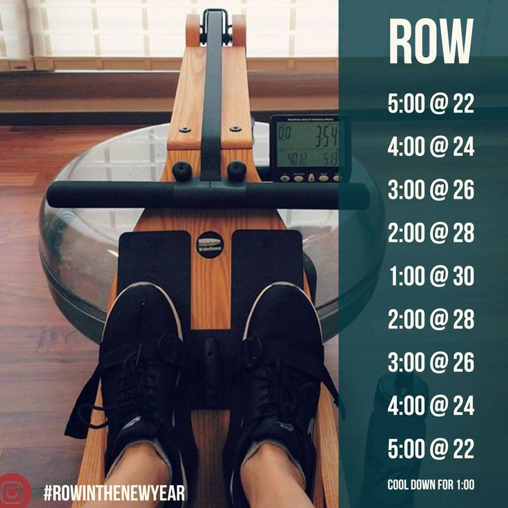 11th workout of WaterRower's Row In The New Year Workout Series!