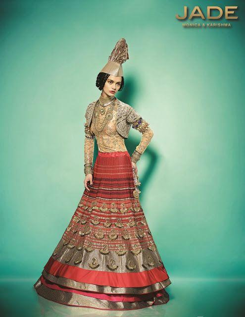 The Bride's Lookbook: JADE by Monica and Karishma 2013 - 2014