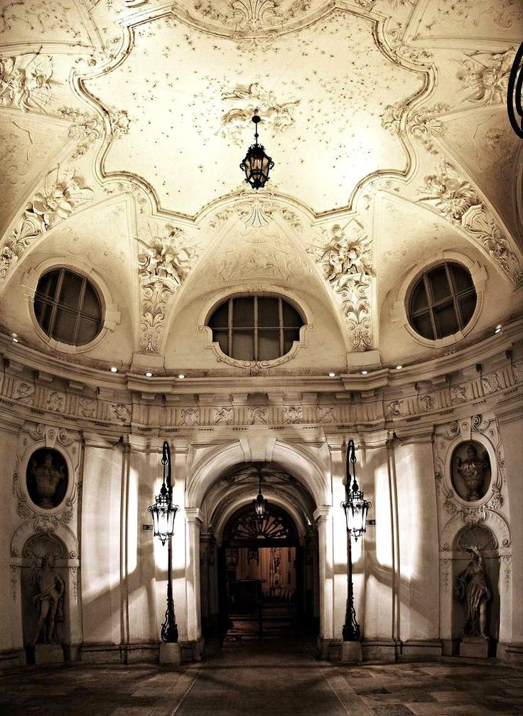 Palais Kinsky, Vienna (Austria, 1713-1719, architect:  Johann Lucas von Hildebrandt)