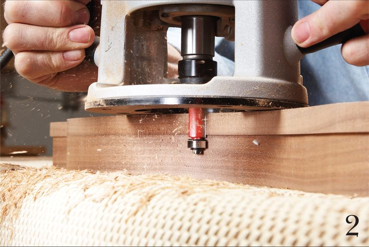 17 router tips hollow core doors and woodworking for Wood router ideas