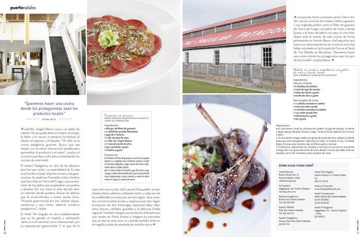 Revista Platos&Copas // Puerto Natales: Los majestuosos sabores del fin del mundo