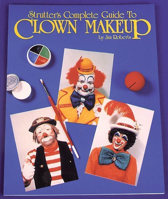 Nice Halloween Props, Decor & Novelties Complete Guide To Clown Makeup just added...