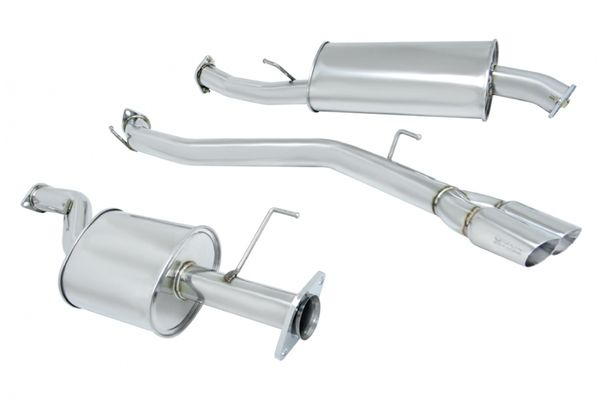 Megan Racing Nissan Quest 2011+ Stainless Roll Tips Catback Exhaust