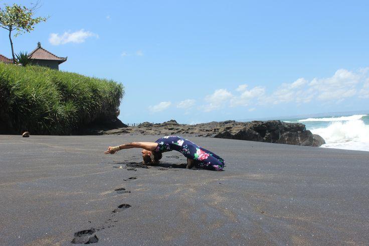 Travel, Bali, Yoga . Dream big and start living it. #yoga #bali #myexoticdream #travelblog #blacksand #perfection  More pics on  http://instagram.com/myexoticdream