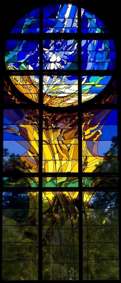 Gorgeous Stained Glass: St. Anthony of Padua Catholic Church (The Woodlands, TX)