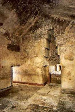 Cámara secreta de la pirámide de Khufu (Keops).