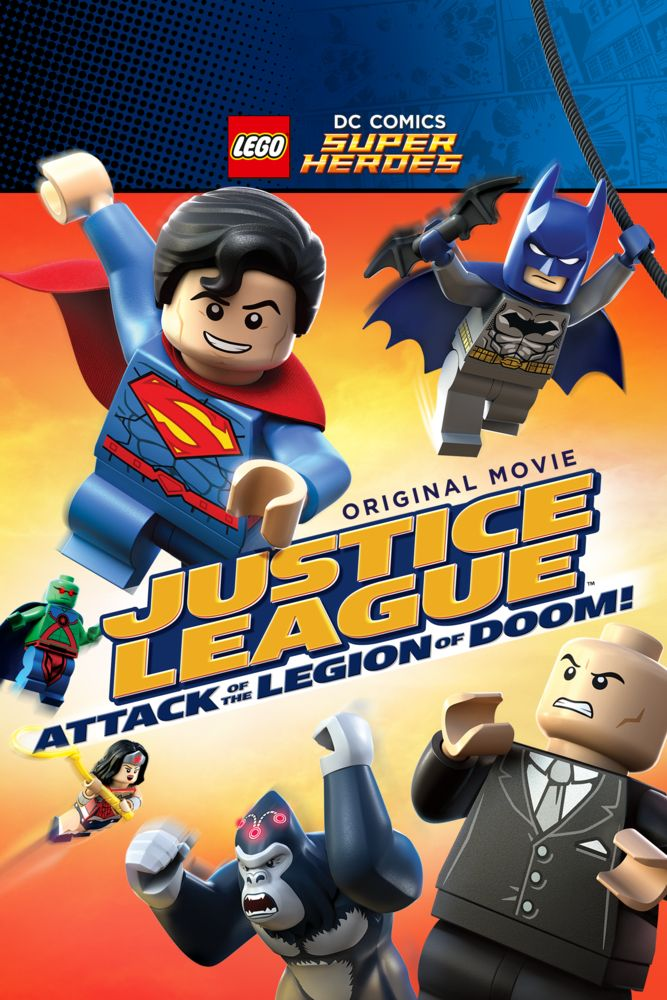 LEGO DC Super Heroes: Justice League - Attack of the Legion of Doom! Movie Poster - Dee Bradley Baker, Troy Baker, John DiMaggio  #LEGODCSuperHeroes, #JusticeLeague, #MoviePoster, #ActionAdventure, #RickMorales, #DeeBradleyBaker, #JohnDimaggio, #Poster, #TroyBaker