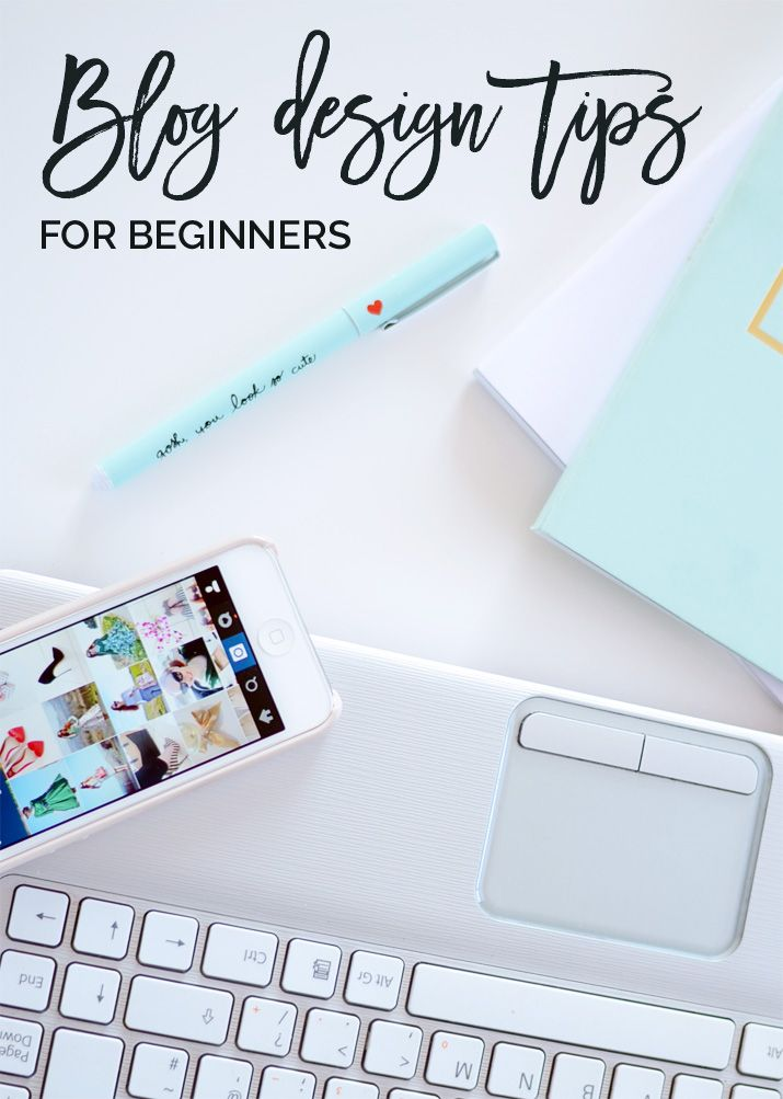 blog design tips for beginners