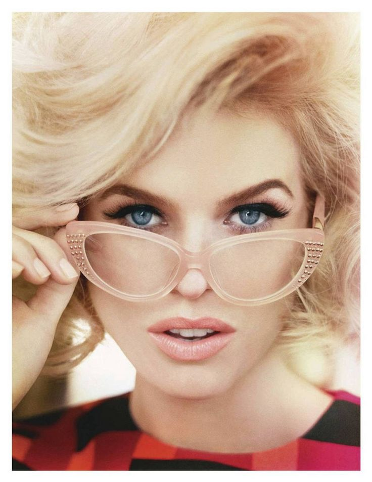 Alice Eve for Tatler UK August, love the shape and color of these glasses!