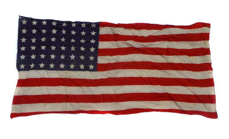 48 Star WWII USA Flag World War Two Cloth Flag British Made Flag Stars and Stripes Old Glory Star Bangled Banner Vintage American Flag by BiminiCricket on Etsy