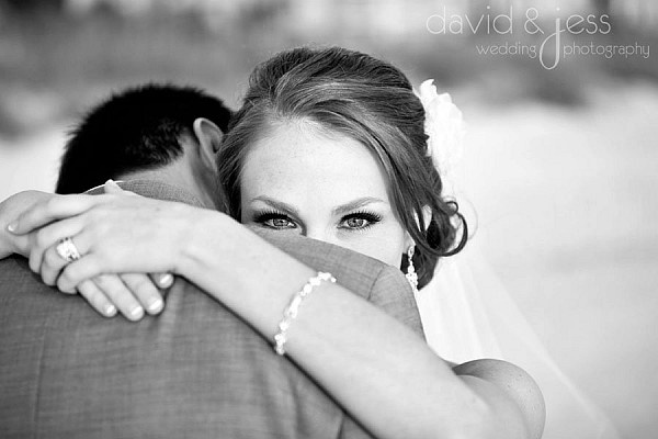 The eyes are the doorway to many photos, what do you think of this wedding photo? Great job to the photographer!