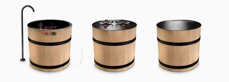 Do you like the idea of these barrel designed appliances? #KitchensOfTheFuture #FutureKitchenAppliances