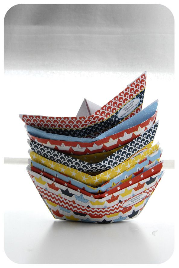 pliage bateau en papier paper boat 6 bateaux en papier pinterest bateaux papier et. Black Bedroom Furniture Sets. Home Design Ideas