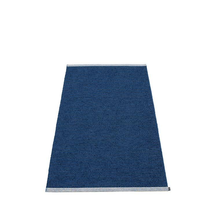 PAPPELINA dywan MONO dżinsowy niebieski AnOther DESIGN