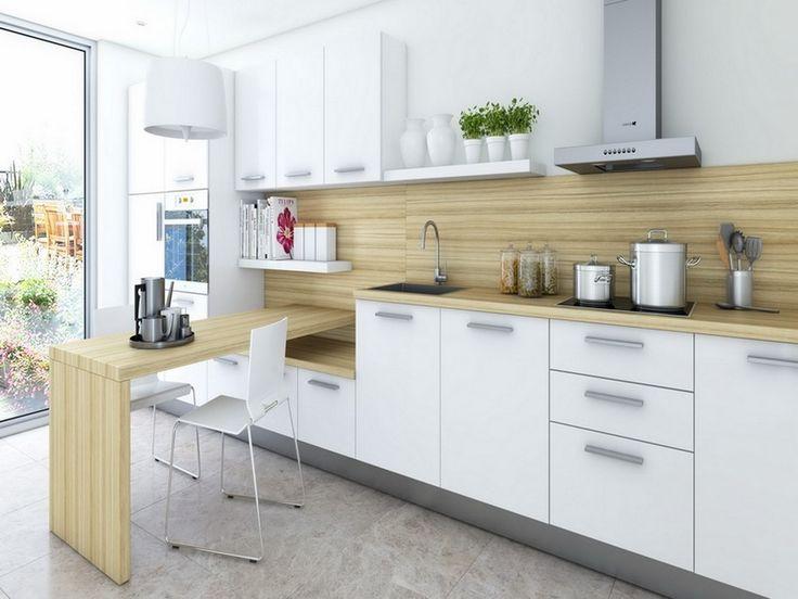 Cool Modern Kitchen Shelves