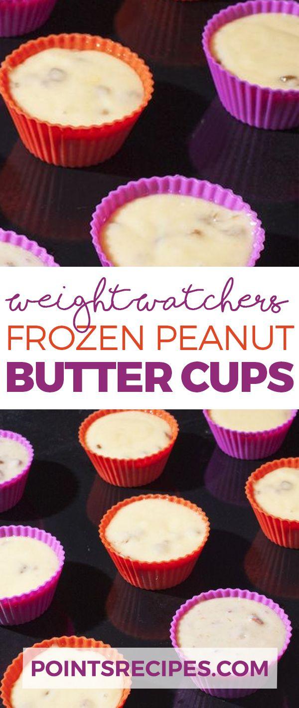 Frozen Peanut Butter Cups (Weight Watchers)