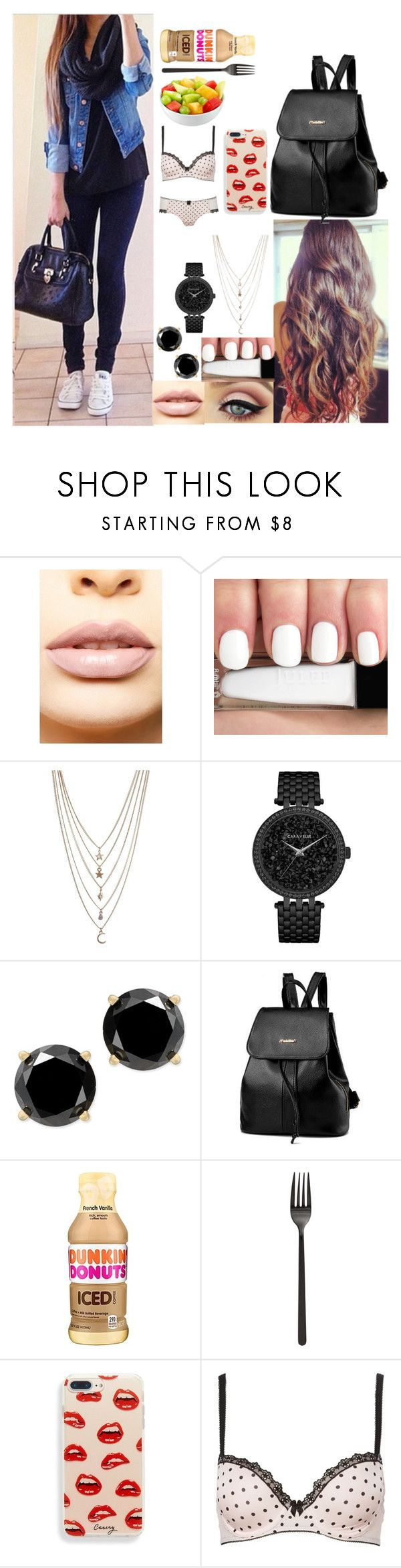 """""""Untitled #2"""" by spideyhiraldo ❤ liked on Polyvore featuring LASplash, Ettika, Caravelle by Bulova, WithChic and b.tempt'd by Wacoal"""