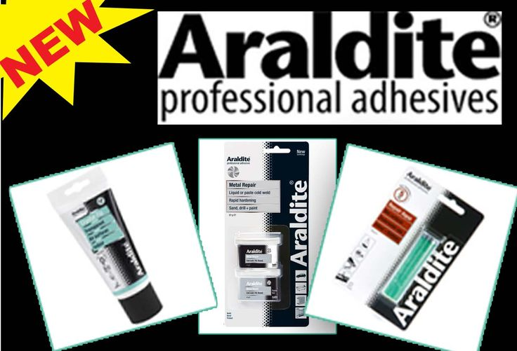 Our Araldite adhesive range is brilliant for repairs! Take a look through the range on http://www.directa.co.uk