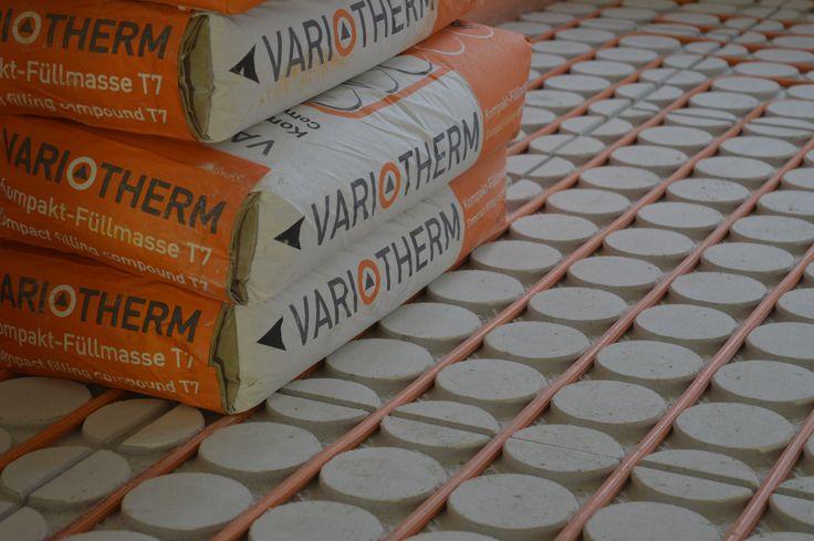 Variokomp Vloerverwarming is zeer geschikt voor oude grachtenpanden of renovatieprojecten waar al een bestaande vloer ligt