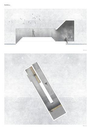 Drawing - Pavilion 4 Rhythms Water - by Diana Lindboe
