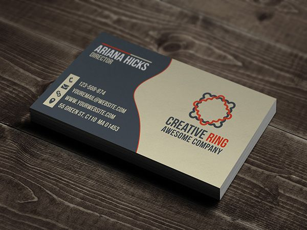 13 best creative designs images on pinterest free business cards if youre not a very creative person but require a trendy looking business card these free templates will be very helpful for you accmission Choice Image