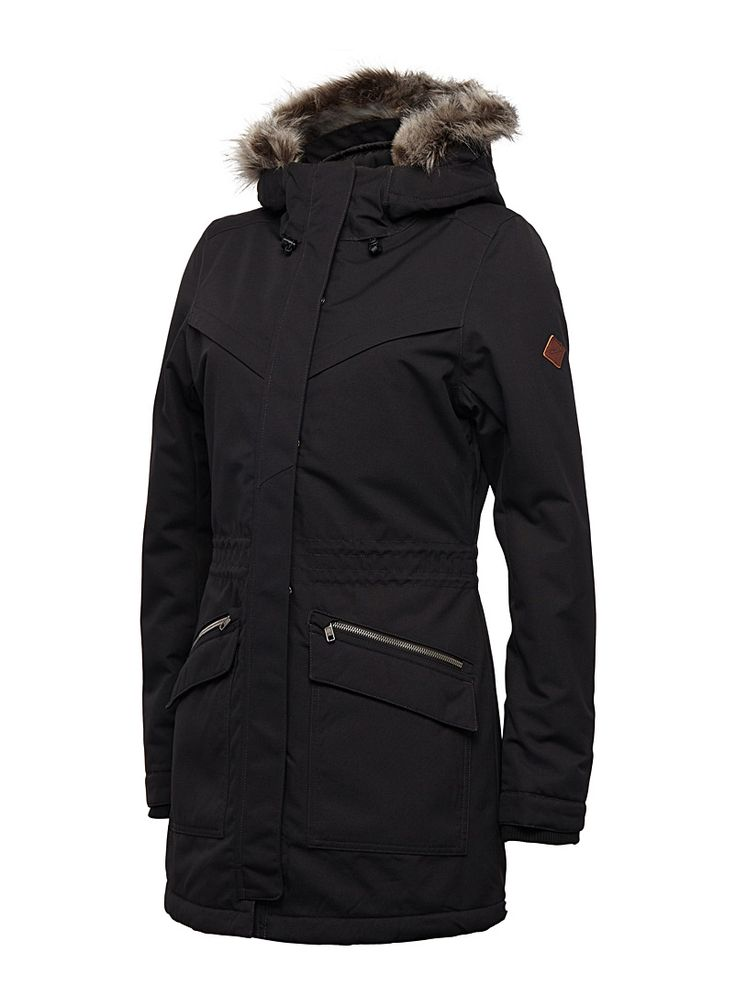 Journey parka Fitted style - Winter Coats - Black