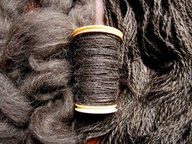 Ardor, Zest.: Spinning Jacob Sheep's Wool