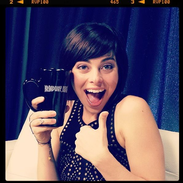 Krysta Rodriguez On Show People All The World S A Stage Pinterest Broadway And Musical