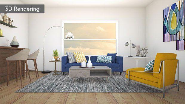 Living Room Designer 3d Rendering Actual Room Zefwgyx Design