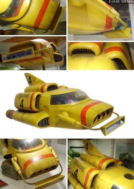 Scratchbuilding Gerry Andersons Thunderbird 4