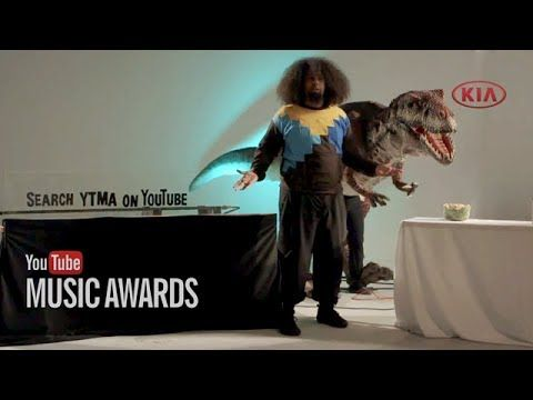 Hey, YouTube, how do I vote for the YouTube Music Awards? Great question, here's co-host Reggie Watts with the answer. #YTMA