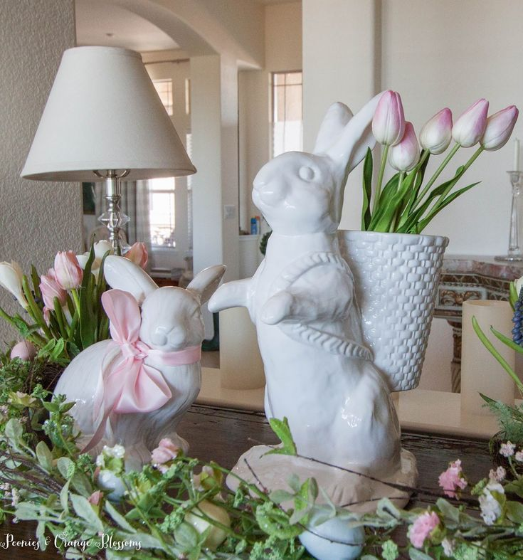 Easter Decorating Ideas – An Easter Home Tour – Petite Haus