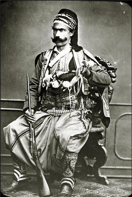 By the 1880s the Ottoman Empire was already in serious decline - unlike this Turkish soldier's resplendent rug.