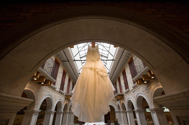 Hacienda Sarria bride's dress