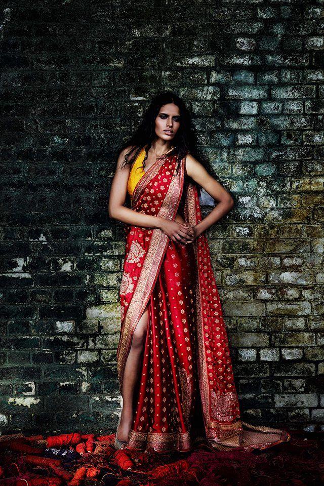 Preeti Dhata for Ritu Kumar Festive Winter 2013/14 campaign via http://www.pinterest.com/RituKumarHQ/pins/