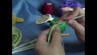 Смотреть онлайн видео ВЯЗАНИЕ КРЮЧКОМ. Урок 2. Столбик без накида