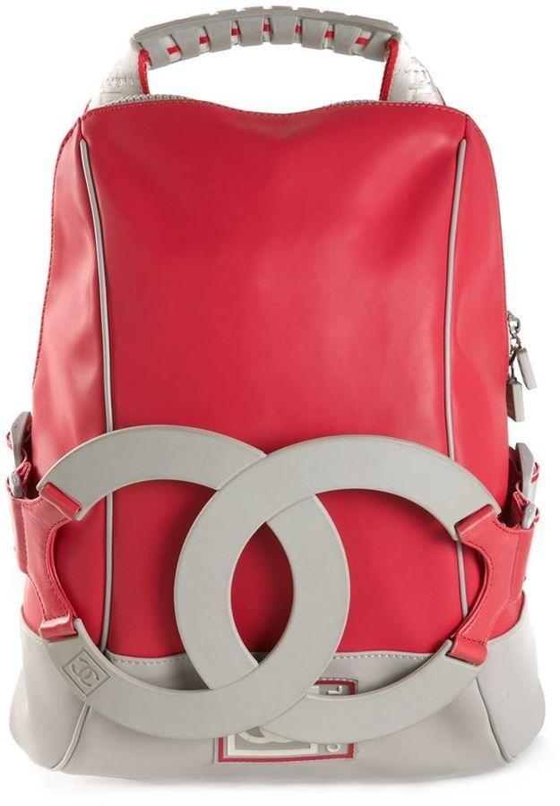 Chanel Vintage CC sport backpack