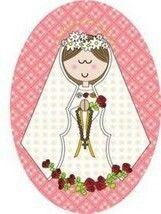 Virgen de la rosa mística