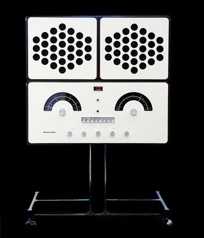 RR126    Radiofonografo stereofonico    1965 Design: Achille and Pier Giacomo Castiglioni