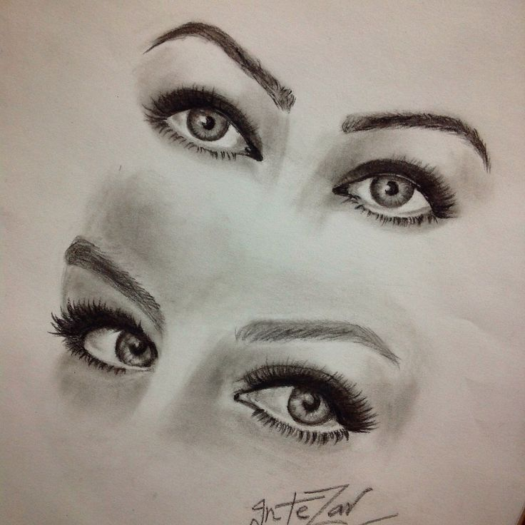 Eye drawing   by me ^^