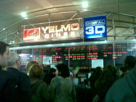 Yelmo Cines Icaria 3D in Barcelona, Cataluña