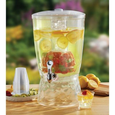 CreativeWare™ 3-Gallon Beverage Dispenser with Infuser - Bed Bath & Beyond