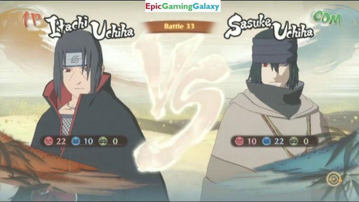 Itachi Uchiha VS Sasuke Uchiha In A Naruto Shippuden Ultimate Ninja Storm 4 Match / Battle / Fight This video showcases Gameplay of Itachi Uchiha VS Sasuke Uchiha In A Naruto Shippuden Ultimate Ninja Storm 4 Match / Battle / Fight