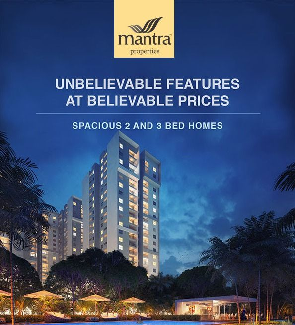 If you are planning to purchase a living space in Pune, you would surely be happy to find an apartment in the highly talked about Mantra Essence Undri in Pune. The projects is offering 1,2 and 3 BHK immensely spacious and luxurious apartments with the sizes ranging between 950 sq ft and 1400 sq ft, it can cater to the needs of the home seekers with varying choices, requirements, and budget.