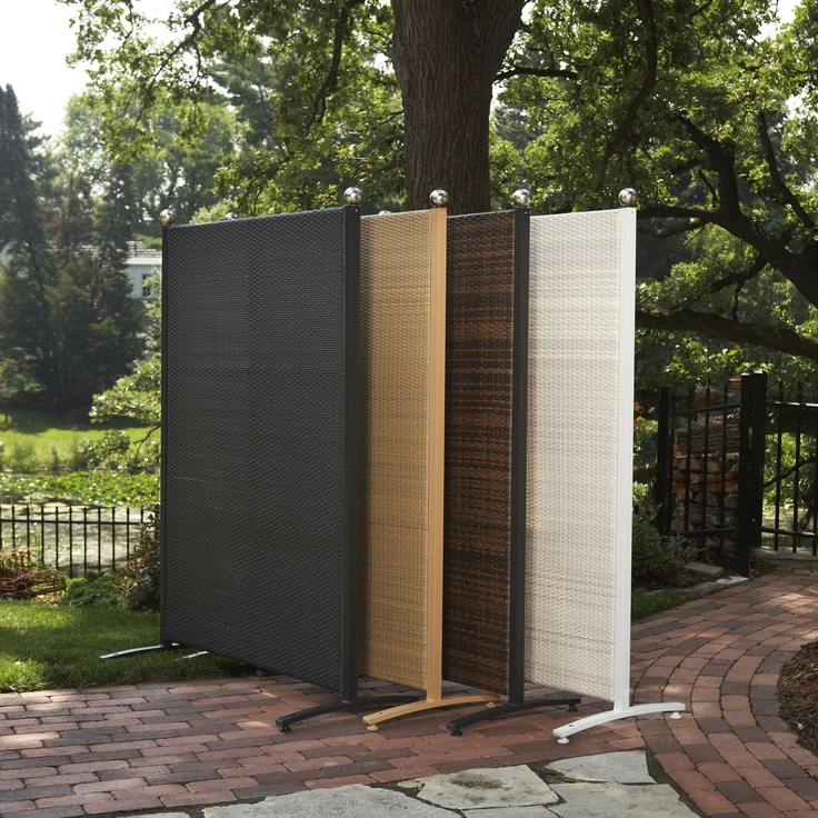 364 best screens dividers partitions images on pinterest On outdoor patio privacy dividers