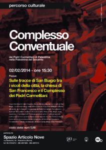 Visita con approfondimento - Il Quartiere San Biagio, i Carmelitani e i Francescani - Articolo Nove - Arte in Cammino