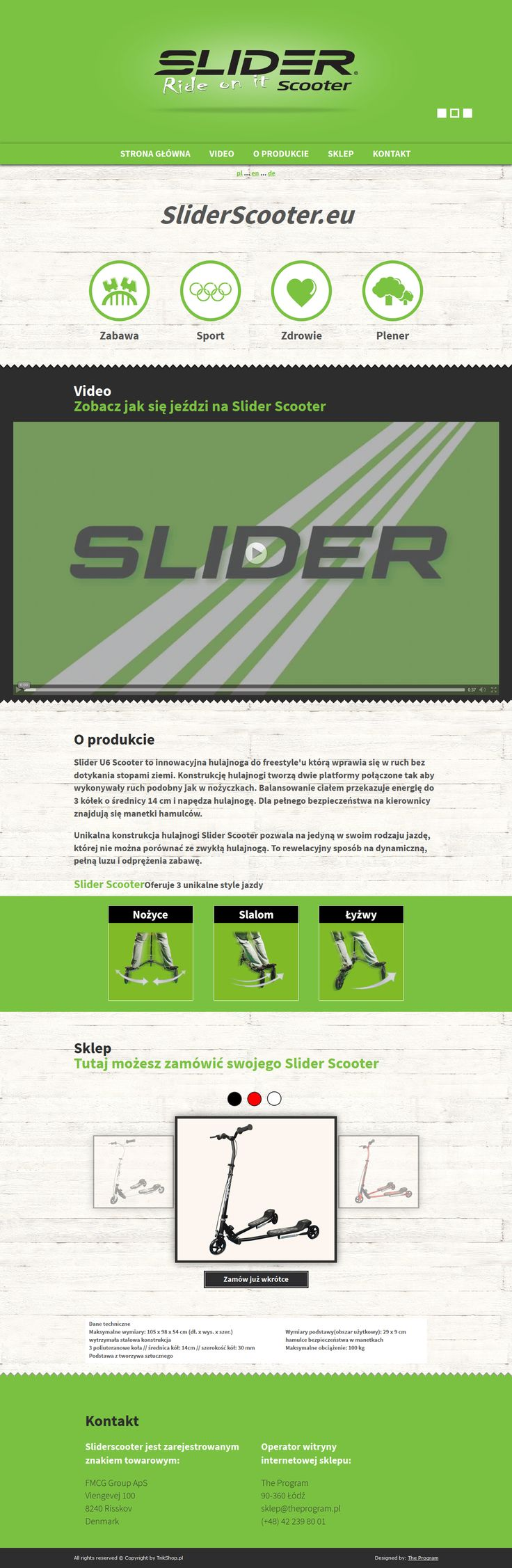 Sliderscooter http://sliderscooter.eu/