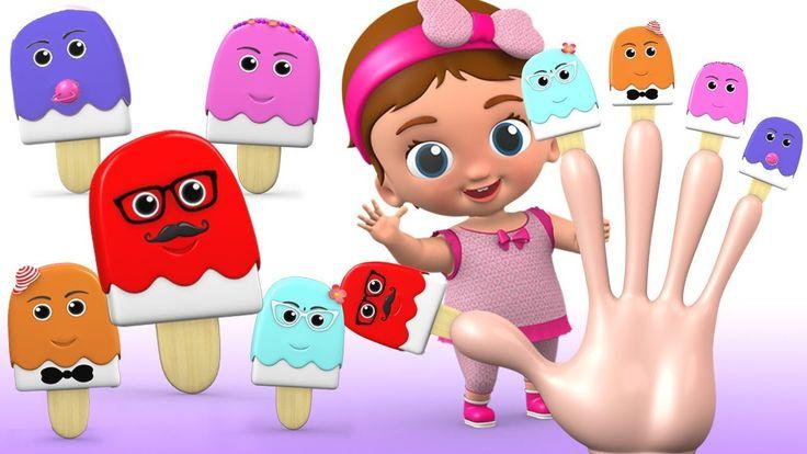 Finger Family Song - Little Baby Chacobar IceCream Finger Family Nursery...