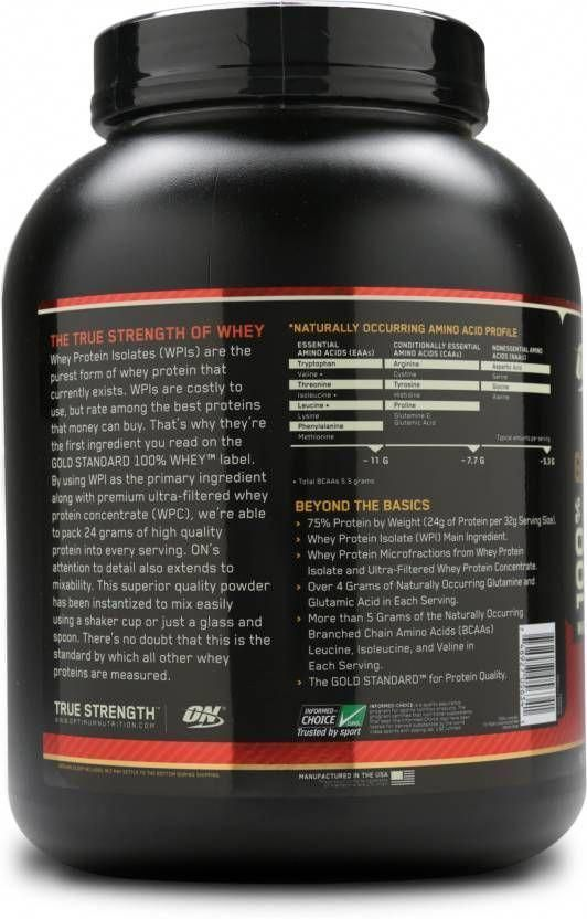 42b33b9c016 Muscle Growth  Optimum Nutrition Gold Standard 100% Whey Protein ...   optimumnutrition